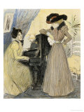 The Great Pains, 1898 Giclee Print by Th&#233;ophile Alexandre Steinlen
