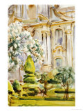 Palace and Gardens, Spain, 1912 Posters by John Singer Sargent