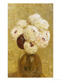 A Vase of Dahlias Giclee Print by Albert Joseph Moore