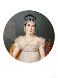 Portrait of Empress Marie Josephine (1763 - 1814), Wife of Napoleon Giclee Print by Pierre Louis Bouvier
