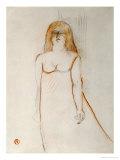 Mademoiselle Cocyte, 1900 Prints by Henri de Toulouse-Lautrec