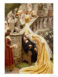 Alain Chartier, 1903 Giclee Print by Edmund Blair Leighton
