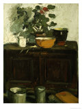 The Kitchen Dresser, Larkhall Giclée-Druck von George Leslie Hunter