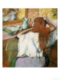 Woman at Her Toilet Giclee Print by Edgar Degas