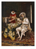 The Connoisseurs, 1886 Giclee Print by Adolphe Alexander Lesrel