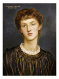 Portrait of Margaret Rawlins, 1883 Prints by Evelyn De Morgan