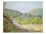 Aux Petites Dalles, 1884 Giclee Print by Claude Monet