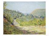 Aux Petites Dalles, 1884 Giclee Print by Claude Monet