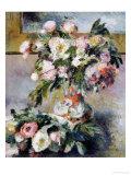 Peonies, 1878 Giclee Print by Pierre-Auguste Renoir