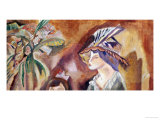 Woman with a Hat Affischer av Jules Pascin