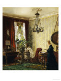 A Woman in an Interior, circa 1878 Prints by Luisa Rovn Hansen