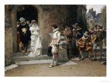 After the Wedding, 1882 Giclee Print by Adrien Moreau