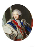 H.R.H. Frederick, Duke of York (1763-1827), Full Face, Wearing the Regalia of the Order Giclee Print by William Grimaldi