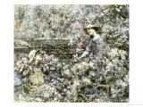 Gathering Blossom, 1916 Print by Edward Atkinson Hornel