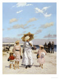 On the Sands Giclee Print by Julius Ehrentraut