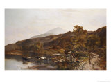 Near Dolgelly, North Wales, 1860 Giclee Print by Sydney Richard Williams Percy