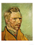 Self Portrait, c.1888 Print by Vincent van Gogh