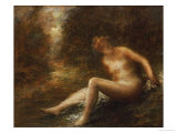 The Huntress Giclee Print by Henri Fantin-Latour