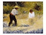 The Stone Heap Premium Giclee Print by Georges Seurat