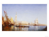 The Grand Canal, Venice Giclee Print by Felix Ziem