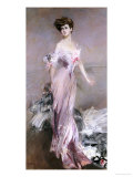 Portrait of Mrs. Howard-Johnston, 1906 Prints by Giovanni Boldini