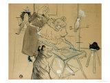 Le Motographe (Melle, Margouin), 1899 Giclee Print by Henri de Toulouse-Lautrec
