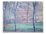 Mornington Crescent Giclée-Druck von Spencer Frederick Gore