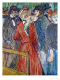At the Moulin de la Galette, 1891 Prints by Henri de Toulouse-Lautrec