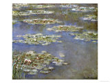 Nympheas, circa 1905 Posters by Claude Monet