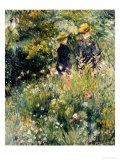 Conversation Dans Une Roseraie, 1876 Posters by Pierre-Auguste Renoir