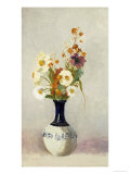 Flowers in a Vase Posters by Odilon Redon