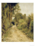 On the Path Prints by Pierre-Auguste Renoir