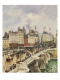 Le Pont-Neuf, 1901 Prints by Camille Pissarro