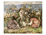 The Butterfly, 1918 Giclee Print by Edward Atkinson Hornel