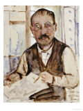 Self Portrait, 1918 Giclee Print by Lovis Corinth