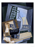 Still life in Front of a Window, 1922 Prints by Juan Gris