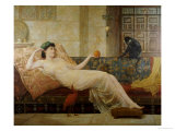A Dream of Paradise, 1889 Print by Frederick Goodall
