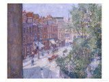 Mornington Crescent, circa 1910-11 Premium Giclee Print by Spencer Frederick Gore