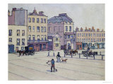 The Weigh House, Cumberland Market, circa 1914 Giclée-Druck von Robert Bevan