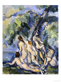 Bathing Study for Les Grandes Baigneuses, circa 1902-1906 Giclee Print by Paul Cézanne