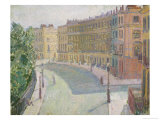 Mornington Crescent, circa 1910-11 Giclee Print by Spencer Frederick Gore