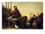China Resting, C 1860 Giclee Print by Juan Leon Palliere