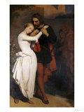 Faust et Marguerite au Jardin, 1846 Prints by Ary Scheffer