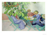 Under the Chestnut Tree, 1912 Premium Giclee Print by Carl Larsson