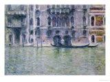 Le Palais Da Mula Giclee Print by Claude Monet