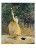 The Spanish Dancer, 1888 Reproduction procédé giclée par Henri de Toulouse-Lautrec