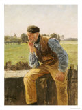 A Dutch Peasant, 1888 Giclee Print by Friedrich Kallmorgen