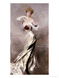 Portrait of the Countess Zichy, 1905 Giclee Print by Giovanni Boldini
