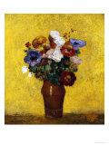 Fleurs Poster by Odilon Redon