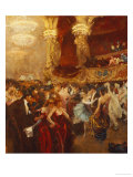 The Masked Ball at l'Opera Prints by Charles Hermans